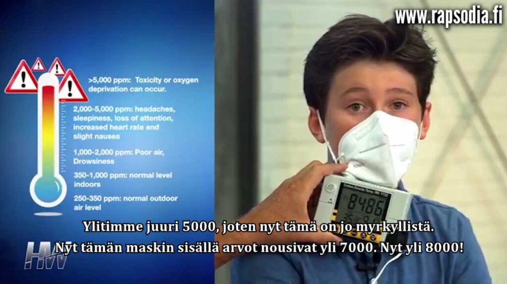 Katso tämä ennen kuin käytät maskia.