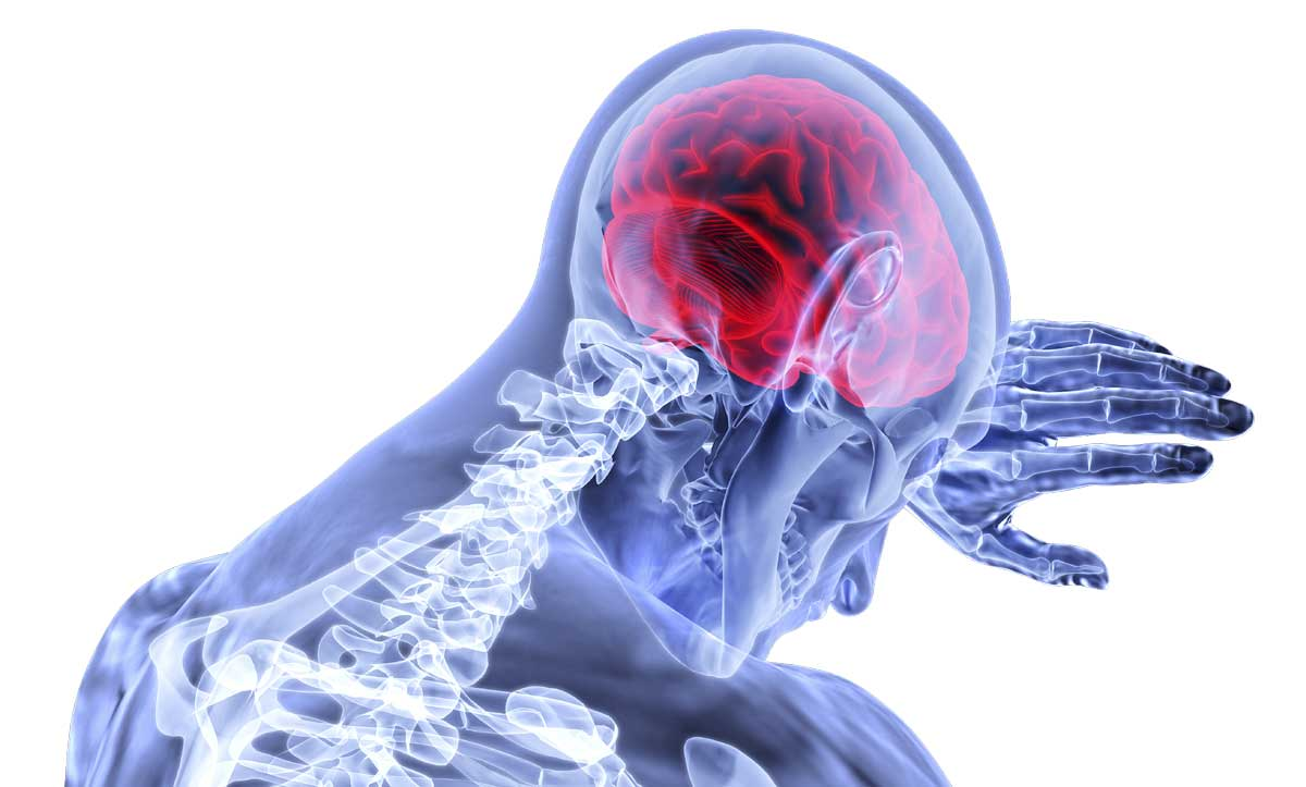 Maskin käyttö ja aivojen hapenpuute.