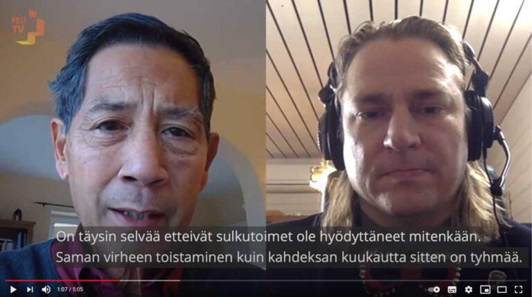 Professori Sucharit Bhakdin haastattelu suomeksi
