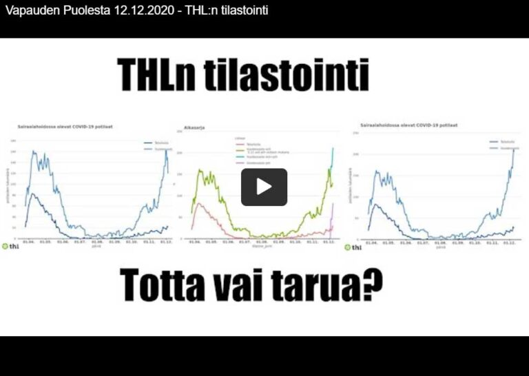 THL:n tilastointi – totta vai tarua?