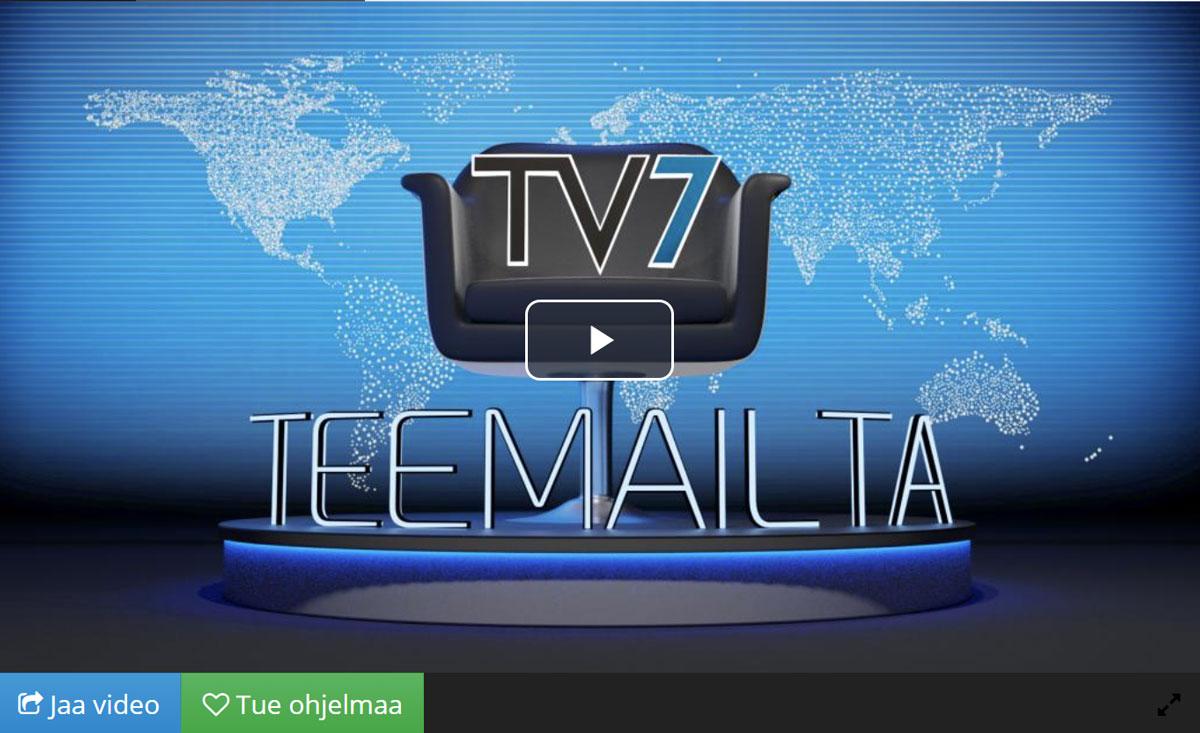 TV7 teemailta: Koronarajoitukset. Ensiesitys 10.2.2021.