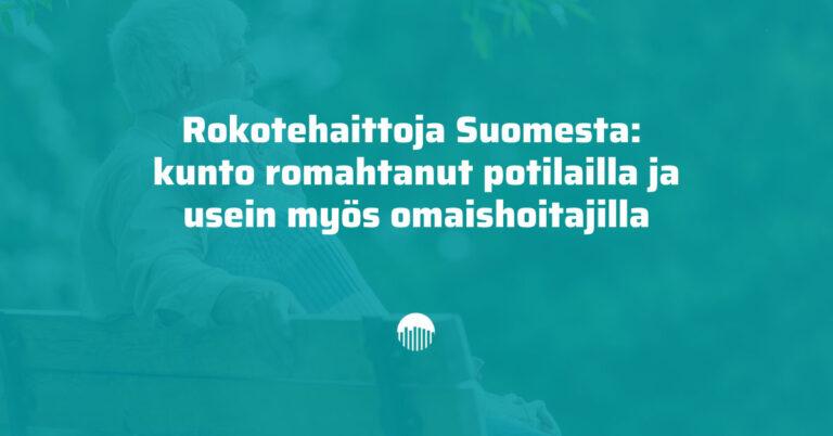 Rokotehaittoja Suomesta: kunto romahtanut potilailla ja usein myös omaishoitajilla