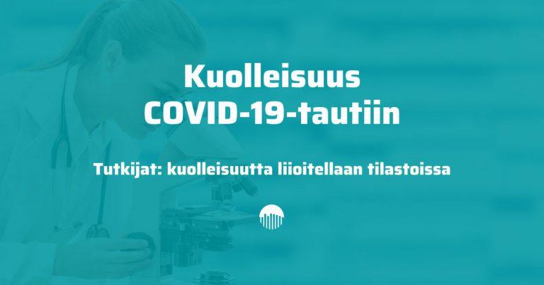Kuolleisuus Covid-19-tautiin