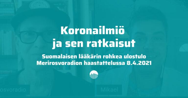 Haastattelussa lääkäri Mikael Kivivuori