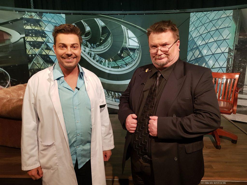 Lääkäri Mikael Kivivuori Alfa TV:n dosentti Arto Luukkasen haastattelussa.